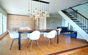 lighting dining room pendant lights amusing hanging for round clear glass fixtures han modern trends