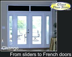 change sliding glass door to french door replacing sliding doors with french doors replacing sliding glass