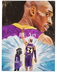 Kobe and Gigi Original Art