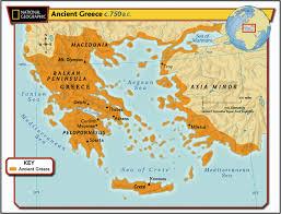 maps of ancient greece  th grade social studies
