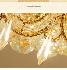 modern led chandelier gold crystal chandelier lighting for dining room ceiling hanging lamps for home decoration