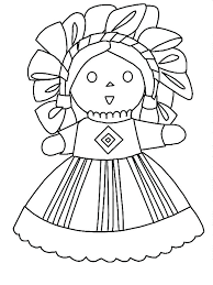 Doll Coloring Page Dress Doll Coloring Pages Color Barbie Games