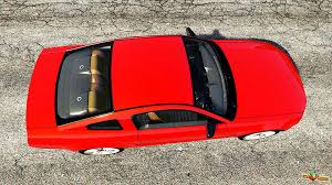 ford mustang top view. ford mustang gt 2005 for gta 5 top view