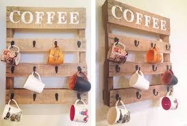 22 coffee mug rack