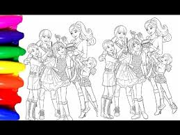 Coloring Pages Barbie Princess Chelsea Coloring Book Videos For Kids