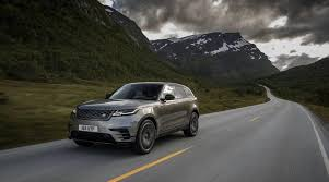 2018 land rover lineup. interesting rover 2018 range rover velar review rounding out the lineup throughout land rover