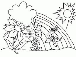 spring coloring sheets printable photos of funny page to fancy image kids pages ribsvigyapan print springcoloring