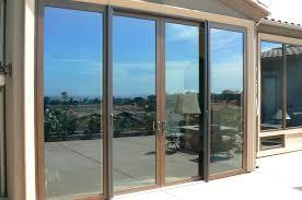 multi slide patio doors multi slide patio doors cost triple track sliding glass doors multi