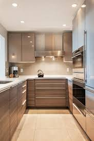 u shaped modern kitchen designs