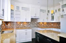 Simple Kitchen Backsplash White Cabinets For Granado Home Design In