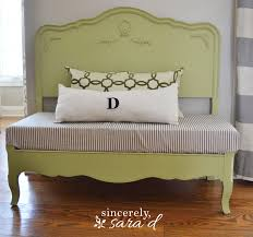 Headboard To Bench Bed Turned Bench Sincerely Sara D