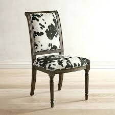 cow print dining chair animal print dining chairs uk