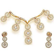 raining star drops 3 48ct classy diamond necklace set