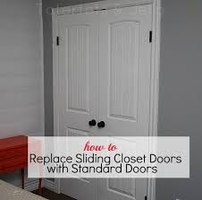 architecture make the most of your closet replace sliding doors with within replacing ideas 0 folding