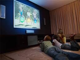 kids watching tv at night. three young kids watching a large wall television stock photo - premium royalty-free, tv at night i