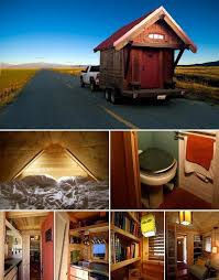 Small Picture Amazing Tiny House on Wheels Home Design Garden Architecture