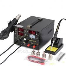 Бюджетная <b>паяльная станция YIHUA</b> 853D в рейтинге устройств ...