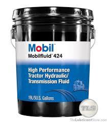 Mobilfluid 424 5 Gal Pail
