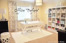 white office decor. honey weu0027re home office decor updates white i