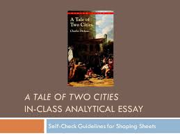 a tale of two cities in class analytical essay self check  1 a tale of two cities in class analytical essay self check guidelines for shaping sheets