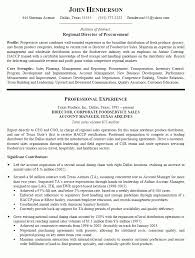 Nice Ideas Procurement Manager Resume Purchasing Manager Cv Sample
