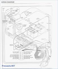Labeled club car precedent battery wiring diagram