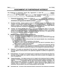 assignment of partnership interest legal templates assignment of partnership interest example thumbnail