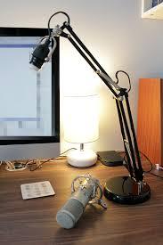 ikea hackers adjule desktop microphone boom on a budget
