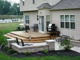Backyard Deck Design Ideas Design Simple Decorating Ideas