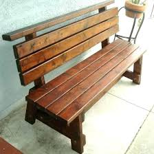 indoor benches with backs rustic wood bench back irrational wooden co home interior