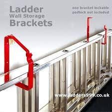 ladder wall hooks more views ladder wall storage brackets