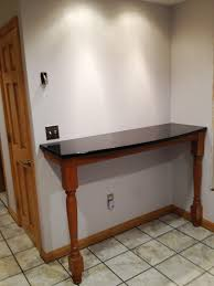 Breakfast bars furniture Solid Wood Diy Breakfast Bar Osborne Wood Videos Osborne Wood Products Breakfast Bar Supported By Extended Concord Island Legs Osborne