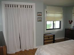 ... Curtains as doors ...
