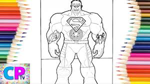 The superman character was created in 1932 (as batman), but appeared in comics 6 years later. Hulk With Superheroes Tattoos Coloring Pages Tattoos Of Superman Avengers Captain America Spiderman Youtube