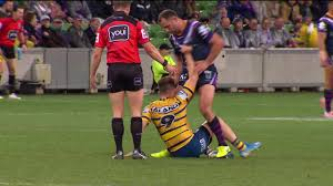 Cameron Smith's <b>brain explosion</b> - Sent off! - YouTube