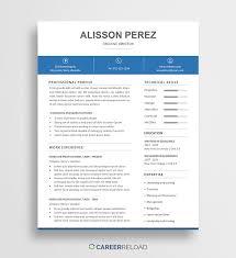 Template Free Creative Resume Templates Word Word Resume