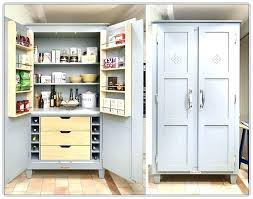 free standing kitchen pantry. Stand Alone Kitchen Pantry And Cabinet Free Standing Cabinets Home Depot .
