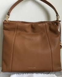 michael kors lex large convertible leather hobo shoulder bag 368 in acorn