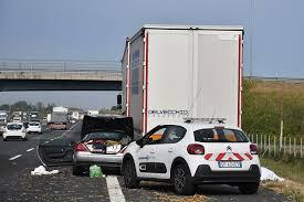 Incidente mortale in A14 (foto Massimo Argnani)