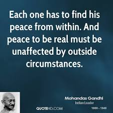 Gandhi Quotes On Peace Awesome Mohandas Gandhi Quotes QuoteHD