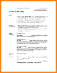 7 Resume Sample College Student Letmenatalya