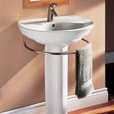 bathroom pedestal sinks. Modren Sinks Ravenna Vitreous China 25 Throughout Bathroom Pedestal Sinks P