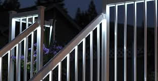 led deck rail lights. With The Ability To Control Lighting From Inside Your Home, You Will Find This Railing System Is Both Unique And Convenient. Led Deck Rail Lights