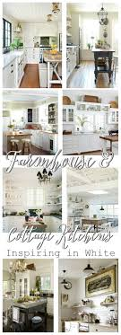Rose Cottage Country Kitchen Cottage Farmhouse Kitchens Inspiring In White Fox Hollow Cottage
