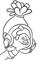 Select from 35450 printable coloring pages of cartoons, animals, nature, bible and many more. Trolls Coloring Pages To Print Topcoloringpages Net
