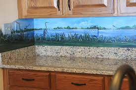 Kitchen Mural Painting And Murals Karin Andrews Real Estate Experience
