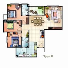 autocad 2d house plans with dimensions lovely 3d house plans in autocad best house design layout