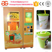 Fresh Juice Vending Machine Stunning Automatic Fruit Fresh Orange Juice Vending Machine Buy Orange