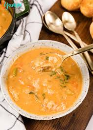 Creamy Seafood Chowder with Homemade ...