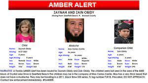 Amber Alert issued for 2 missing ...